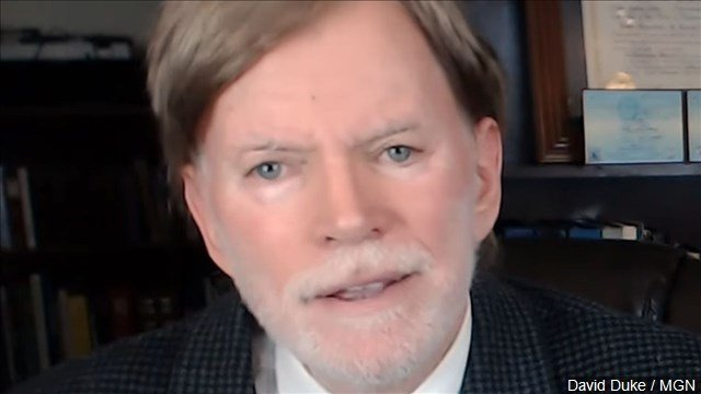 A quarter century after his credible run for governor of Louisiana rattled the national political establishment, white supremacist David Duke has joined a wide open field seeking a U.S. Senate seat.