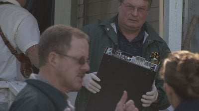 Sheriff's officials confiscate computer equipment from McGuire's home