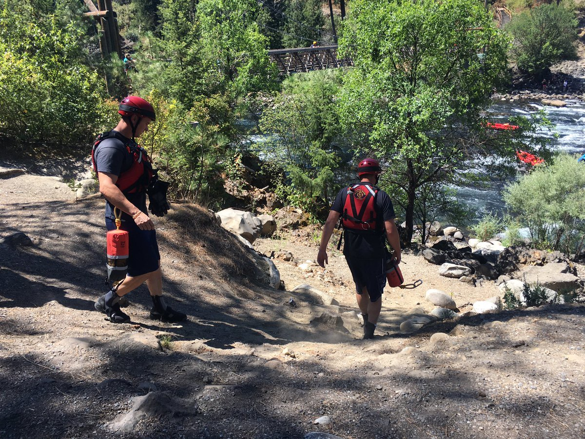 Crews respond to a water rescue at Bowl and Pitcher