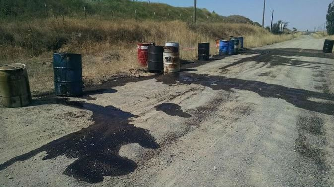 If you know who is dumping these barrels of oil, please call Crime Check at 509-456-2233.