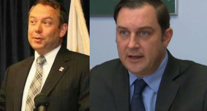 Mayor David Condon (Left) and Council President Ben Stuckart (Right)