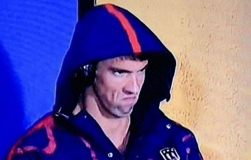 """The Phelps Face"""