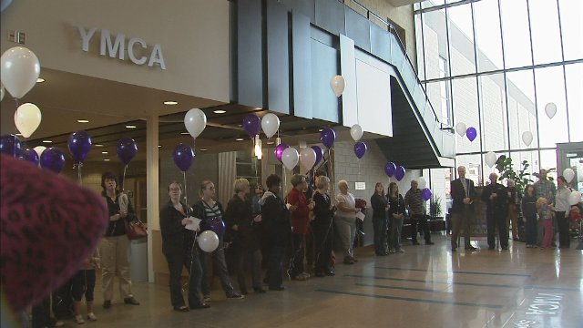 A vigil was held at YWCA in Spokane Tuesday afternoon to remember those who have lost there lives to domestic violence or who have survived abuse.