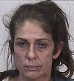 47-year-old Meri Leigh Popejoy said she was not aware of the theft and was napping at the time