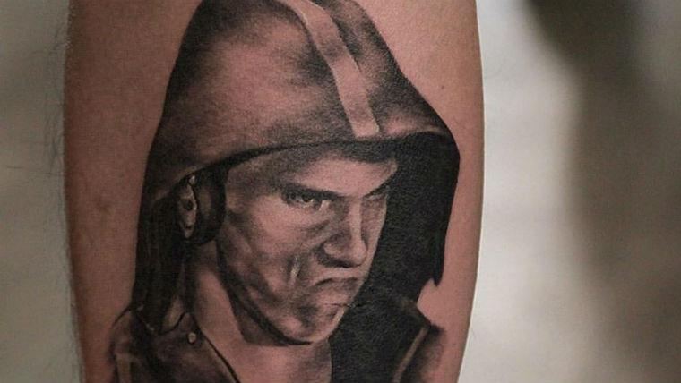 Phelps Face ink. Photo: Chronic Ink Tattoo Shop Toronto/Facebook