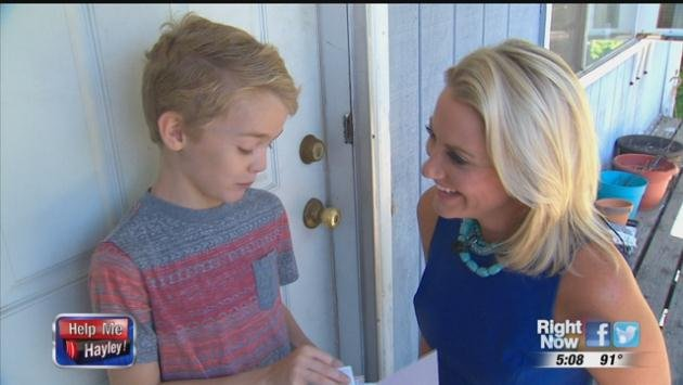 A generous viewer helped save this little boy's birthday after watching his story on KHQ.