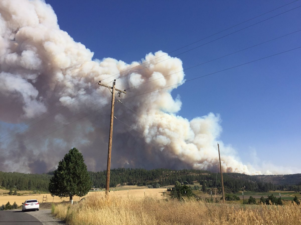 Wildfire Brush Fire And Forest Fire Coverage Nbc Right Now Kndo Kndu Tri Cities Yakima Wa