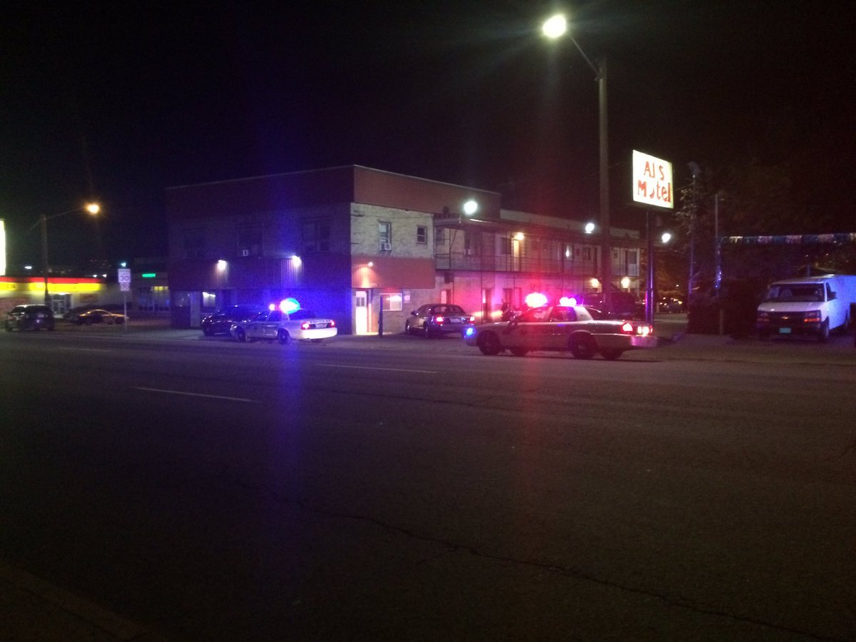 SPD reports a woman was shot at Al's Motel.