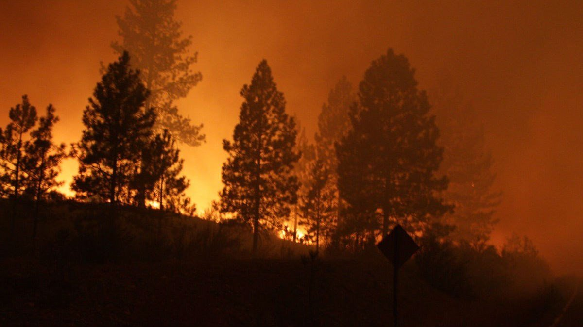 More than 18,000 acres and 14 homes have been destroyed because of the fire.