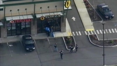 The four Lakewood police officers were killed at this 'Forza' coffee shop