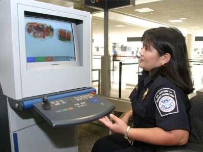 Airport Bag Screening (Photo Courtesy: Homeland Security)