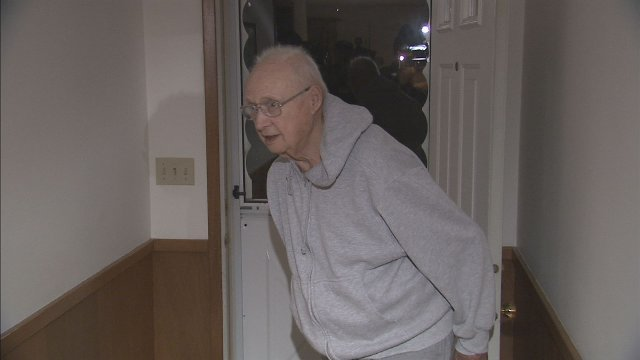 85-year-old Andy Anderson says he shot twice at a man who broke into his home Friday night