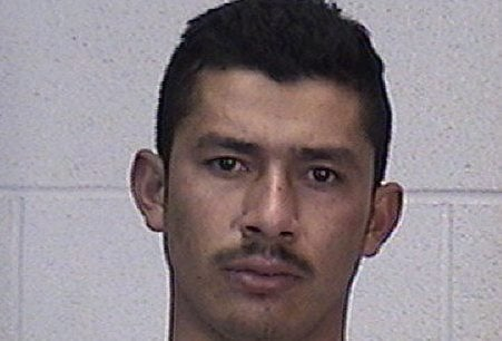J. Guadalupe Martinez, 24, was arrested Tuesday evening