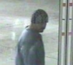 Butrick on surveillance video captured in late October at the Conoco in the 3000 block of E. Mission. Police arrested him in November for his role in an ATm theft at the Conoco