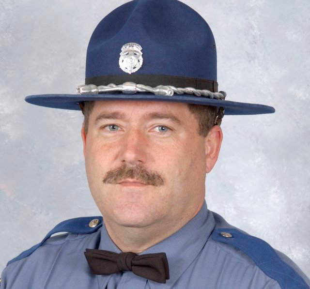 Trooper Scott Johnson was shot shortly before 1 a.m. Saturday along State Route 103