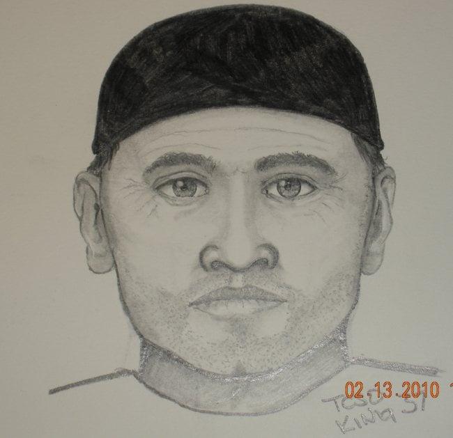 WSP sketch of shooting suspect