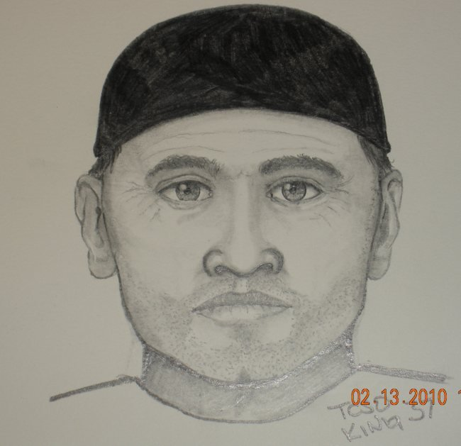 WSP sketch of shooting suspect