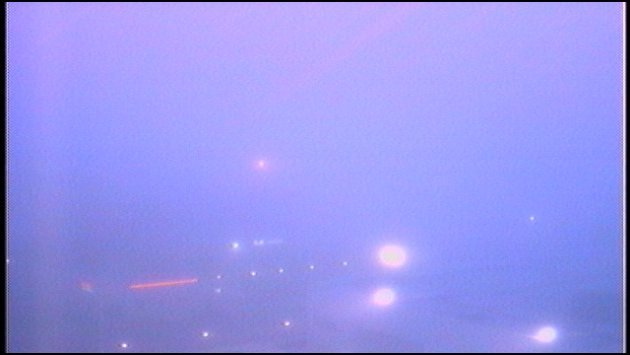 Downtown Spokane with Fog: 6:16 a.m. Friday