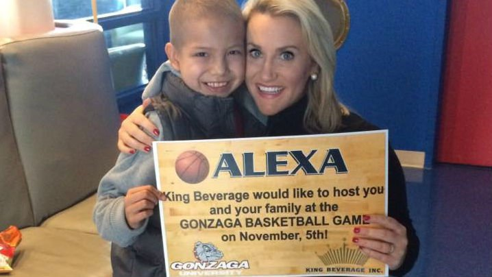 KHQ's Hayley Guenthner delivered the good news to Alexa Wednesday morning