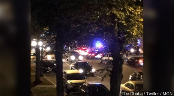 Overnight shooting in Boston leaves 2 Boston Police Officers in critical condition and the gunman dead, Photo Date: 10/12/16