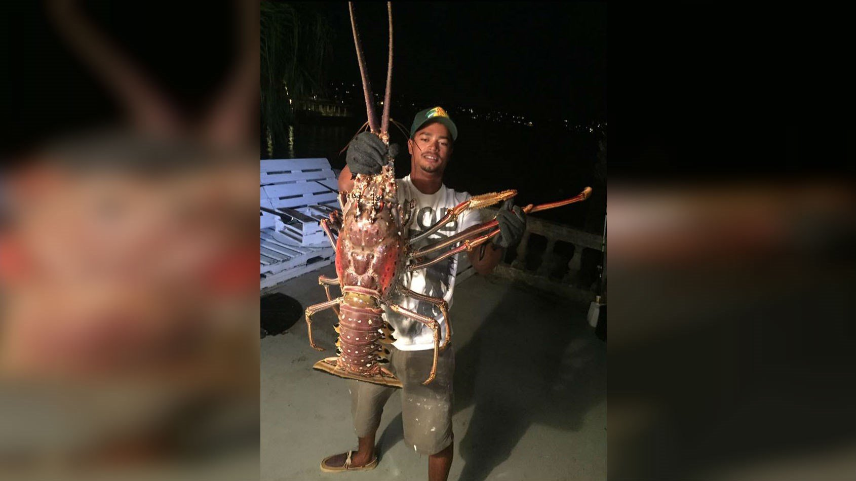 The Monster Lobster (PHOTO: Facebook/Sanctuary Marine Bermuda)
