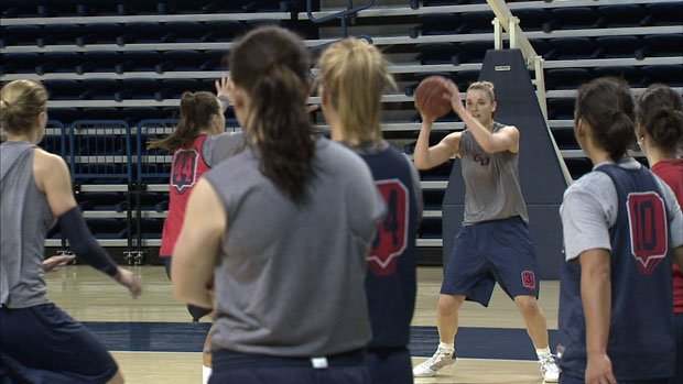 The Gonzaga women's team will play in the Sweet 16 against Xavier on Saturday (Photo: SWX)