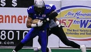 Emery Sammons was an All-af2 receiver with the Manchester Wolves last season (Photo: Manchester Wolves)