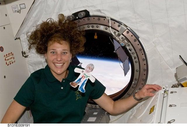 Flat Marie in Space