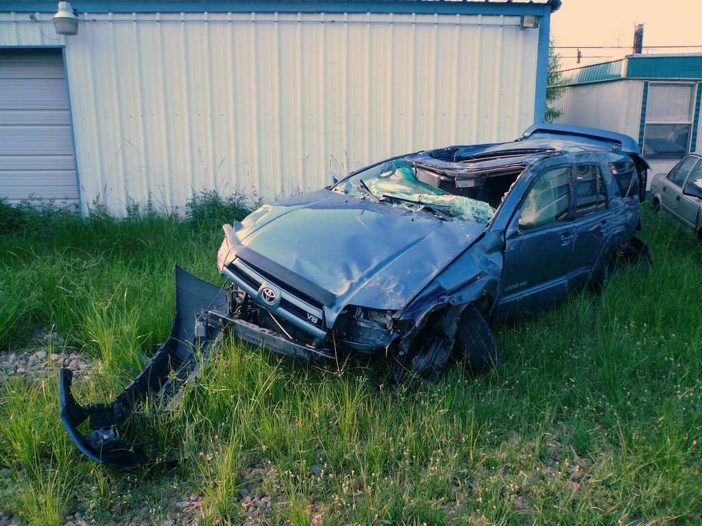 (The result of texting while driving)