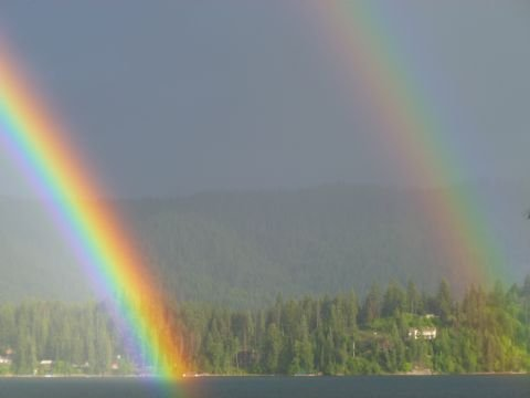 (KHQ Viewer Photo from Sarah Holcomb in Hayden Lake)