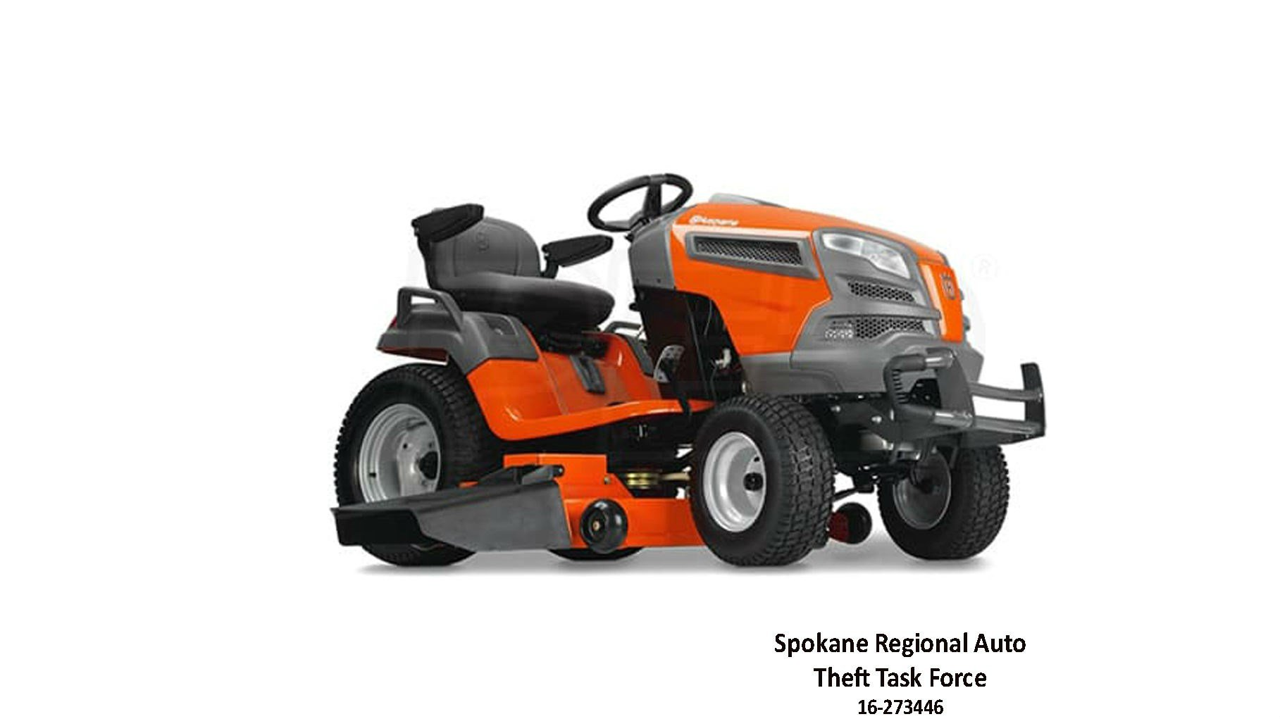 Investigators are attempting to locate the person(s) who may have purchased a Husqvarna similar to the one depicted in this picture.