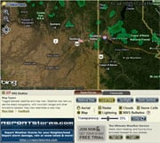 Here's a small example of what you'll see with KHQ's HD Doppler 6i Interactive Radar