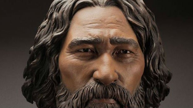 Kennewick Man. Photo: Smithsonian/Facebook