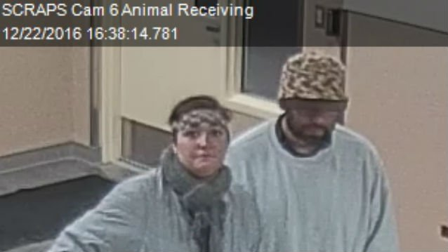 SCRAPS appreciates any help the public can give.  Please call SCRAPS at (509) 477-2532 if you have any information regarding these two people of interest or the theft.