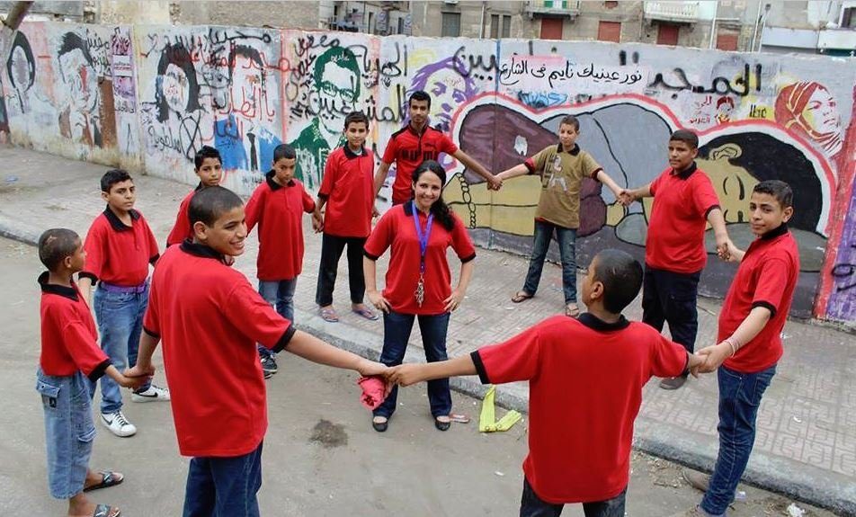 Aya Hijazi launched a not-for-profit group aimed at helping homeless children. Photograph: Courtesy Alaa Hijazi