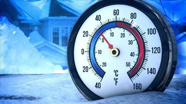 Weather Authority: New year ushered in with snow, cold temps