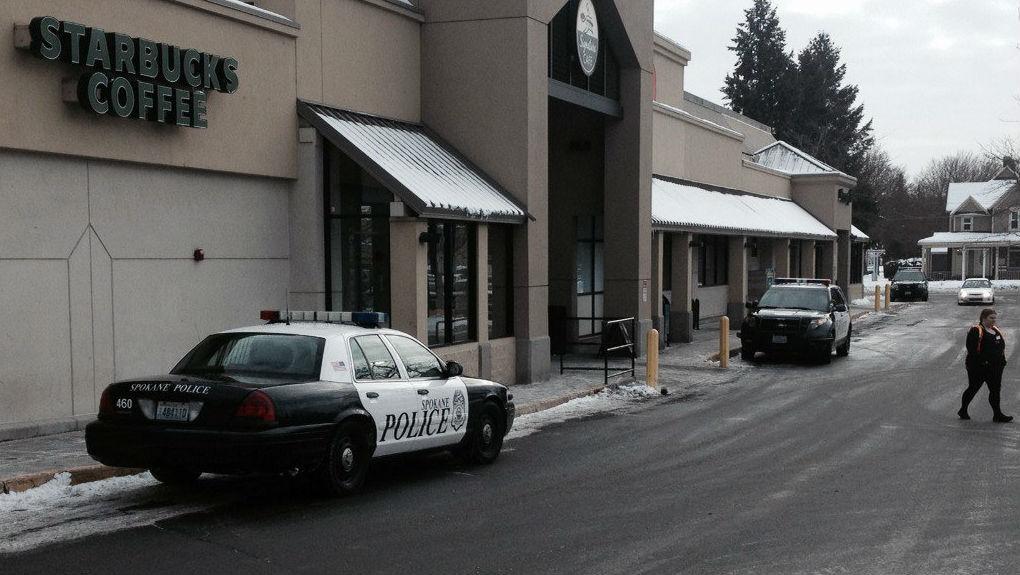 The Alaska USA Federal Credit Union was robbed Tuesday morning