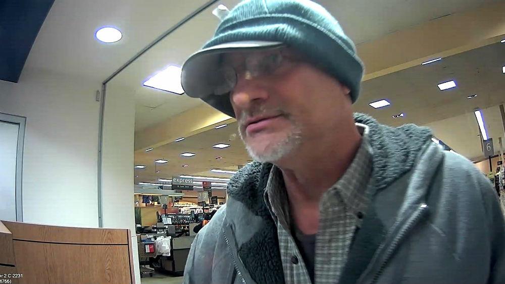 Do you recognize this man? Call Crime Check.