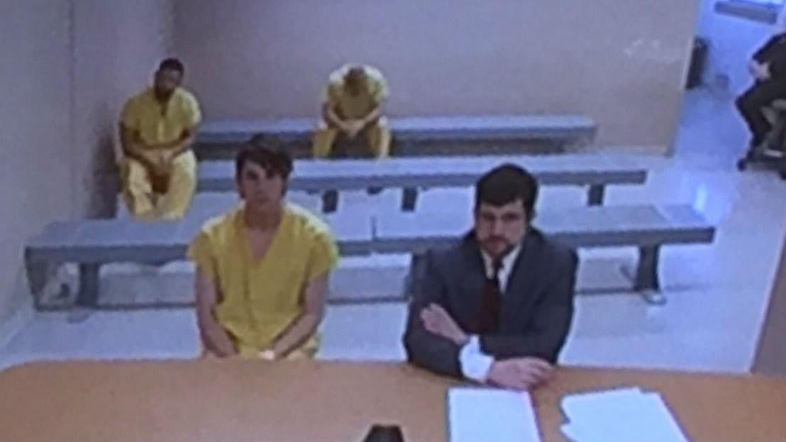Radavich in court on Friday