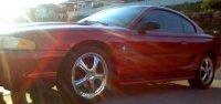 Dallas Cress' Ford Mustang