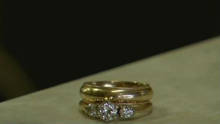 miracle in the snow lost wedding ring reunited with owner - Lost Wedding Ring