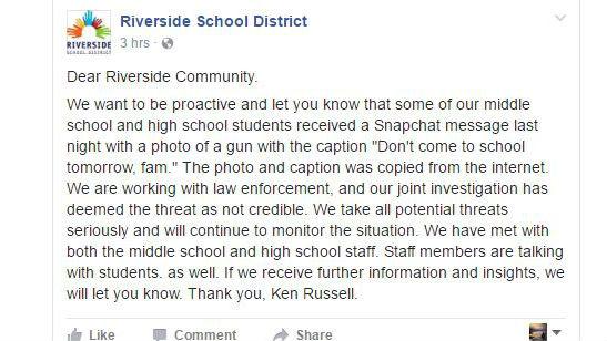 Facebook/Riverside School District