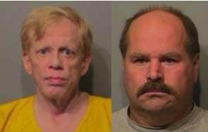 Edgar Steele (on the left) Larry Fairfax (on the right)
