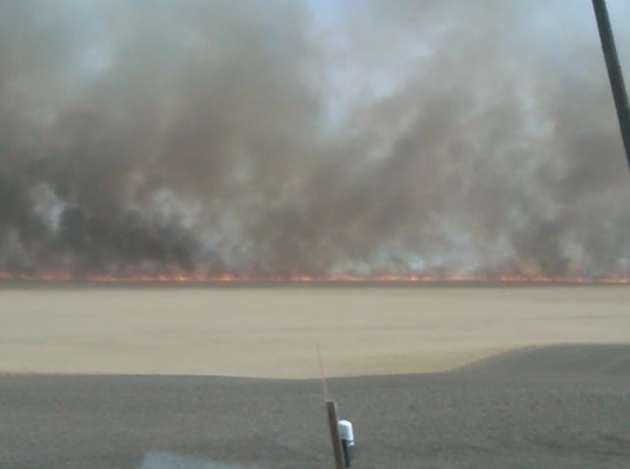 (Fire In Davenport Washington)