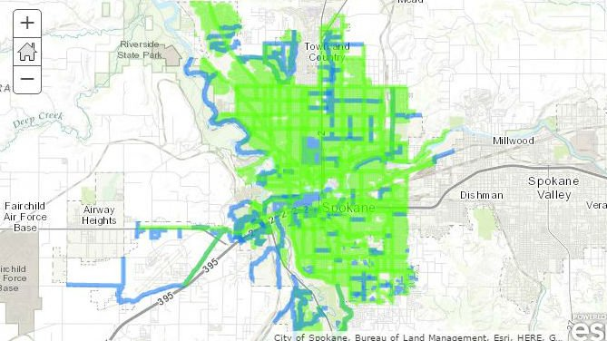 How accurate is Spokanes snow removal map Spokane North Idaho