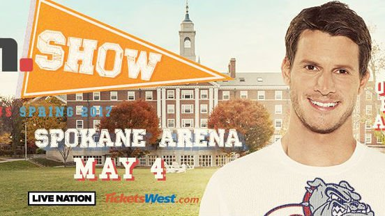Daniel Tosh will play Spokane on May 4 at the Star Theater in the Spokane Arena