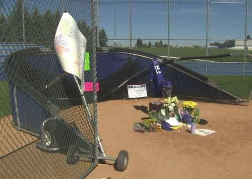 (Memorial at CDA High School for Devon Austin)