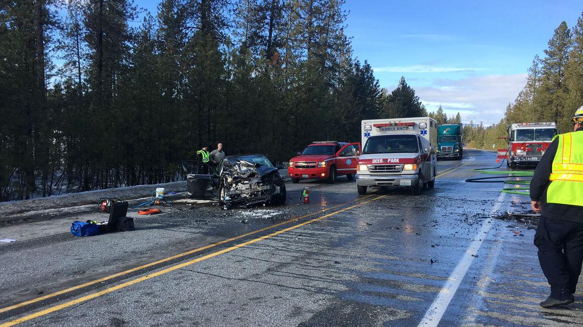 Highway 2 At Bear Lake Reopened After Serious Crash