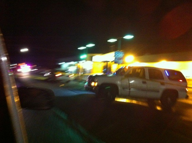 Viewer photo from the scene at the Cascade Valley Grocery.