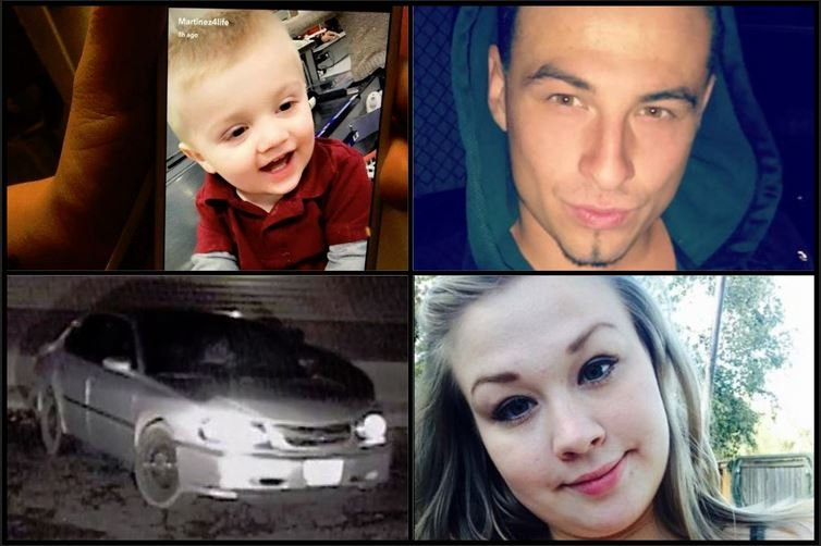 Amber alert issued for toddler out of Yakima
